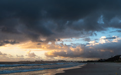 Coolangatta Colours (armct) Tags: sunrise reflection clouds storm cumulus morning early walker recreation leisure exercise sky color colour surf waves sand beach tide goldcoast goldenfour coolangatta currumbin queensland