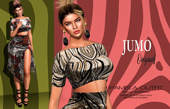 Pamela Outfit (junemonteiro) Tags: jumo originals mesh maitreya belleza slink gown chic