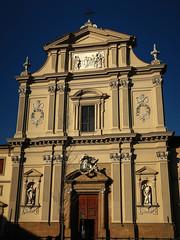 Firenze, San-Marco (Les 3 couleurs) Tags: firenze florence italie italy italia toscana tuscany toscane sanmarco eglises church