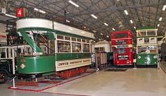 Ipswich Corporation Tramways Car 33, Ipswich Transport Museum, 7th. April 2019. (Crewcastrian) Tags: ipswich trams ipswichcorporationtramways ipswichtransportmuseum 33 preservation prioryheath