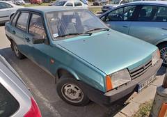 1998 Lada Samara Sedan 1500S (FromKG) Tags: lada vaz samara 21099 sedan blue car kragujevac serbia 2019