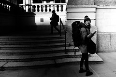 disoriented (99streetstylez) Tags: street streetphotography strassenfotografie streetphoto 99streetstylez streetizm london bnw fuji fujix100f