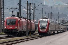 SBB Twindexx in Innsbruck | Taurus 1116-177 (The Rail Net) Tags: öbb sbb cff ffs innsbruck bahnhof