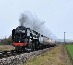 BR Standard Class 7MT No.70000 'Britannia' (Landshrew) Tags: br britishrailways britanniaclass standardclass7mt 70000 britannia lsl locomotiveserviceslimited saphostrains gobowenforoswestry gobowen