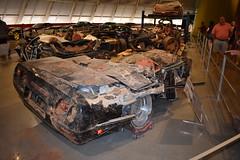 SINK HOLE CORVETTE'S (SneakinDeacon) Tags: chevrolet corvette museum autos automobile bowlinggreen