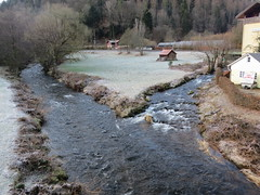 Am Zusammenfluss von Eyach und Enz (thobern1) Tags: eyach enz eyachbrücke altemühle schwarzwald blackforest foretnoir badenwürttemberg germany