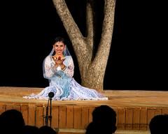 Kathak performance (diamondwarrior) Tags: india indian classicaldance kathak beautiful beauty girl stage performance performing audience portrait portraitphotography woman art performingarts