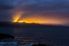 Sunset (j.kowalska) Tags: sunset zachód słońca laspalmas grancanaria wyspykanaryjskie canarianislands spain hiszpania landscape widok view krajobraz ocean góry
