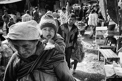 At the local market (Feca Luca) Tags: street reportage blackwhite children bimbi market people peru southamerica nikon travel viaggiare village