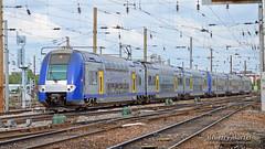 Z 24521/22 (311) + Z 24563/64 (332), Amiens - 28/04/2014 (Thierry Martel) Tags: z24500 amiens automotrice sncf