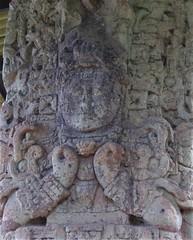 Copan Stela (tom_2014) Tags: copan copanruinas ruins mayanruins maya mayanempire stela mayanstela art sculpture mayanart carving stone standingstone unesco worldheritage worldheritagesite landmark famous travel archaeology mayan honduras centralamerica mesoamerica