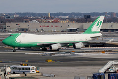 4X-ICD | Boeing 747-4EVFER | CAL - Cargo Air Lines (cv880m) Tags: newyork aviation airliner airline aircraft airplane jetliner airport jfk kjfk kennedy 4xicd boeing 747 744 74f 744f 747400f 7474ev cal cargoairlines israel freighter freight cargo aircargo jade jumbo