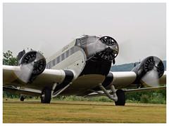 Junkers Ju 52/3m - 6580 - HB-HOS (Aerofossile2012) Tags: avion aircraft aviation meeting airshow laferté 2017 junkers ju 523m 6580 hbhos juair