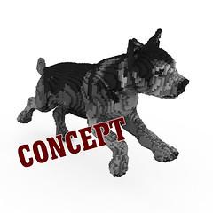 Malamute Puppy (BrickFabrik) Tags: lego malamute dog legodog legoanimal puppy