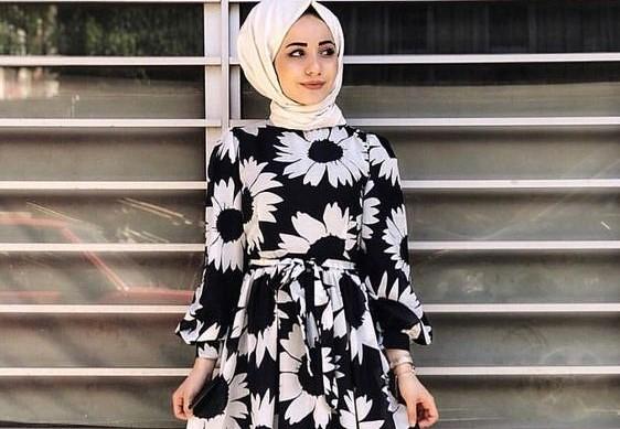 a62ba3338 فساتين سواريه مشجرة للمحجبات آخر صيحة لعام 2019 (مريم للأزياء الراقية)  Tags: اخبار