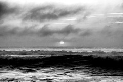 We are tied (gusdiaz) Tags: nature naturephotography water ocean sea canon canonphotography black white bw blanco negro oceano mar sand sunrise amanecer sol sun sunny winter invierno stormy windy beautiful stunning absoluteblackandwhite
