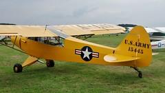 G-BLGT - Piper L-18C Super Cub (V77 RFC) Tags: august2010