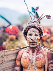A Hot Day in Papua New Guinea (Trey Ratcliff) Tags: goroka papuanewguinea stuckincustoms treyratcliff stuckincustomscom portrait person culture customs photography travel paint