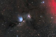 M78 - Another version (Alejandro Pertuz) Tags: nebula space cosmos messier astronomy astrophotography universe telescope long longexposure astrometrydotnet:id=nova3143543 astrometrydotnet:status=solved