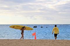 CC Lifeguard Trainee and Trainer (ALOHA de HAWAII) Tags: alamoanabeachpark