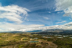 Vista panorámica hacia Santa Sofía // Boyacá // Colombia (Peter Lievano) Tags: green boyacá boyaca colombia landscape paisaje montañas valles montains blue sky cielo clouds nubes nikon d610 nikond610