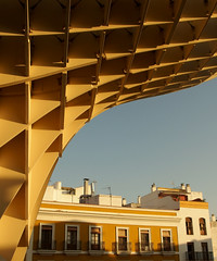 Seville (only lines) Tags: seville spain metropolparasol architecture