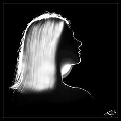 Laurie (christian_lemale) Tags: laurie verhelst femme woman portrait studio jouéimages nb bw