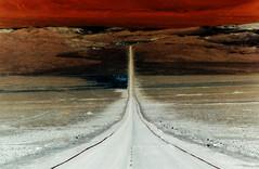 Tal der Geduld (bhermann.hamburg) Tags: chile atacama wueste desert unwetter thunderstorm strasse road roadtonowhere