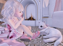 .O.T.D. 02.17.19 (Emery/Teagan Parker) Tags: kokoroposes lfc little friend clothing lula belle audrianna heart pink half deer kitty high class pearls photo hold still smile bebebodyfitted cute adorable playtime yumyum