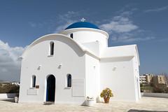Saint Nicholas Church (syf22) Tags: cyprus paphos church worship greekorthodoxchurch idolised saintnicholaschurch churchofcyprus christianity white building