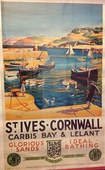 St.Ives Classic GWR Poster (andreboeni) Tags: stives cornwall gwr greatwestern railway railroad poster carbisbay lelant