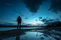 Rêverie (Stéphane Sélo Photographies) Tags: ain canon1740f4 canon6dmarkii france trévoux aqua coucherdesoleil eau landscape lumière ombres paysage reflet rivière silhouette sunset water