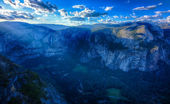 Yosemite Valley (KC Mike Day) Tags: park national yosemite valley california northern coast west river merced dusk blue skies clouds landscape geographic point glacier falls waterfalls waterfall