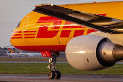 D-ALES EAT Leipzig DHL Boeing 757-2Q8(PCF) cn 29442 ln 819 (Florent Péraudeau) Tags: dales eat leipzig dhl boeing 7572q8pcf cn 29442 ln 819 757 200 757f freighter cargo