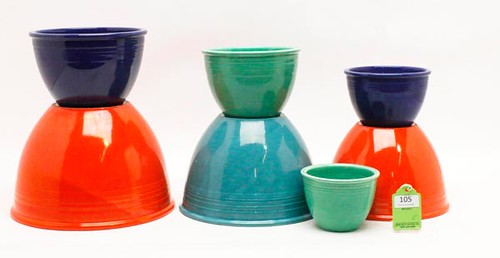 Original Fiestaware Collection totaled ($3,472.00)