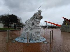 Cardiff (menchuela) Tags: cardiff march city menchuela streetart memorial cardiffbay