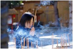 Prayer In The Temple - Buddhist Temple XT6602e (Harris Hui (in search of light)) Tags: harrishui fujixt1 digitalmirrorlesscamera fuji fujifilm vancouver richmond bc canada vancouverdslrshooter mirrorless fujixambassador xt1 fujixcamera fujixseries fujix fujixf50140mmf28 fujizoomlens buddhism buddhisttemple prayer praying askforwellness 觀音寺 candid street streetphotography internationalbuddhisttemple 國際佛教觀音寺 richmondbc metrovancouverbc richmondbccanada metrovancouverbccanada