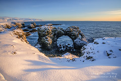 Sunrise @ Iceland (Jennifer 真泥佛 * Taiwan) Tags: iceland sunrise 北極圈 冰島 日出
