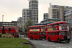 RT40 commemoration Event 2019 (Wandle 190) Tags: rt40 aecregentiii londontransport barking londonbuses eastlondonbuses lt route 62 aec rt