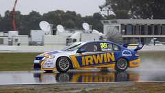 Wet Winton Falcons (1/4) (Jungle Jack Movements (ferroequinologist)) Tags: ford falcon mustang xr8 bf fg supercars kumho series winton wet v8 touring super 2 3 chris smerdon stone brothers josh smith jordan boys aaron seton victoria australia motor racing pass race speed car cars hottie track practice pole position times timing hard competition competitive event saloon sports racer driver mechanic engine oil petrol build fast faster fastest grid circuit drive helmet marshal starter sponsor number class motorsport classic raceway