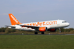 G-EZAS Airbus A319-111 easyJet Airline Company MAN 09APR19 (Ken Fielding) Tags: gezas airbus a319111 easyjetairlinecompany aircraft airplane airliner jet jetliner