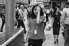 City Overload (McLovin 2.0) Tags: portrait candid street streetphotography urban city sydney australia monochrome stripes bw blackandwhite sony a7r 55mm zeiss summer