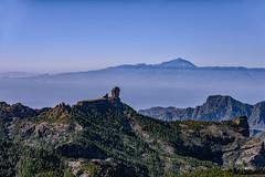 Tres en una (libretacanaria) Tags: grancanaria tenerife gomera teide nublo cumbres paisaje landscape 28105mm f3545d
