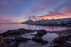 Botafoc Lighthouse in Ibiza (Miguel Martin Ibiza) Tags: nikon nikond750 sunset haidafilter skyporn sky landscape landscapephotography longexposure longexposition water calm blue hot winter