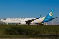 UR-PSM_B737NG_AMS_08JAN18 (Plane Shots) Tags: ams b737 eham jetliner ukraineinternational urpsm b737ng