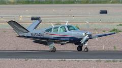 Beech V35B Bonanza N1548W (ChrisK48) Tags: beechv35b n1548w beechcraft bonanza 1972 kdvt aircraft airplane phoenixaz dvt phoenixdeervalleyairport