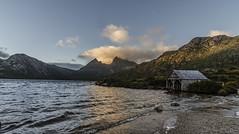 The boat house Cradle Mountain a (Bev-lyn) Tags: cradlemountain boathouse tasmania travel water lake