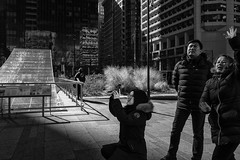 Dilworth Park, 2018 (Alan Barr) Tags: philadelphia 2018 dilworthpark cityhall street sp streetphotography streetphoto blackandwhite bw blackwhite mono monochrome candid city people ricoh gr