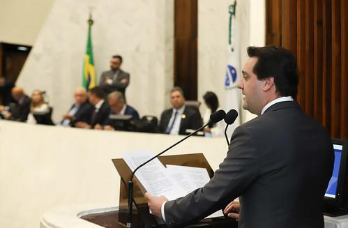 04/02/2018 - Primeira Sessão da Assembléia Legislativa