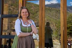 Karin Kneissl auf Südasienreise (Bhutan)
